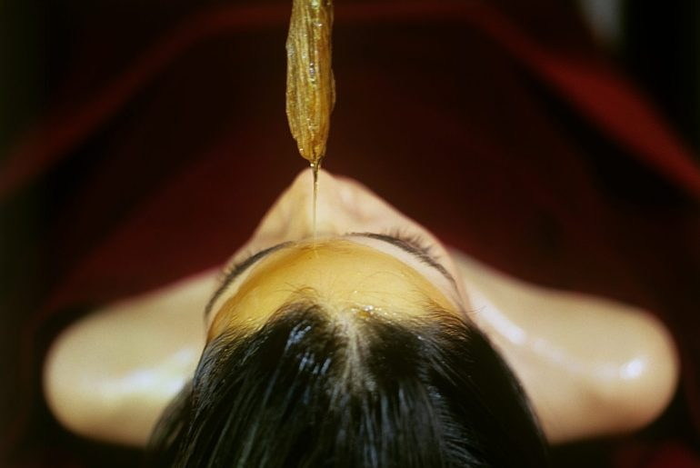 oil treatment, Ananda in the Himalayas