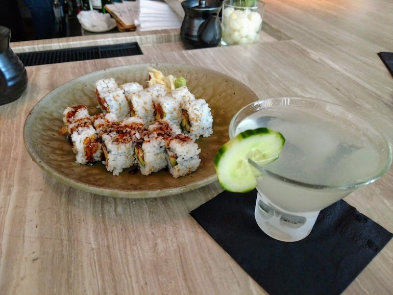 sushi at Imoto, Palm Beach