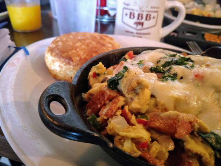 Yard Work skillet at Big Bad Breakfast