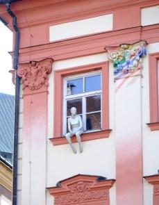 Sitting on the Window Sill