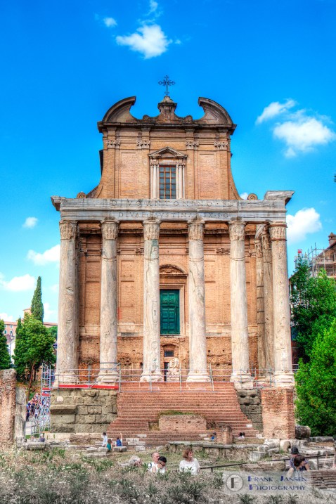 Temple of Antonino and Faustina