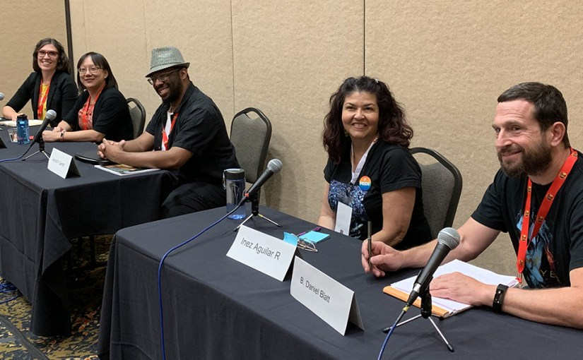 Panels and readings at SpikeCon