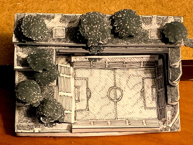 This is the Fútbol Park Space 3D model, developed from a 2D map drawing.