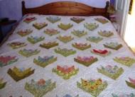 MARIAN's flower quilt