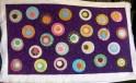 Annette's circles quilt - front