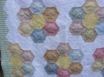 Hexagons close up 3