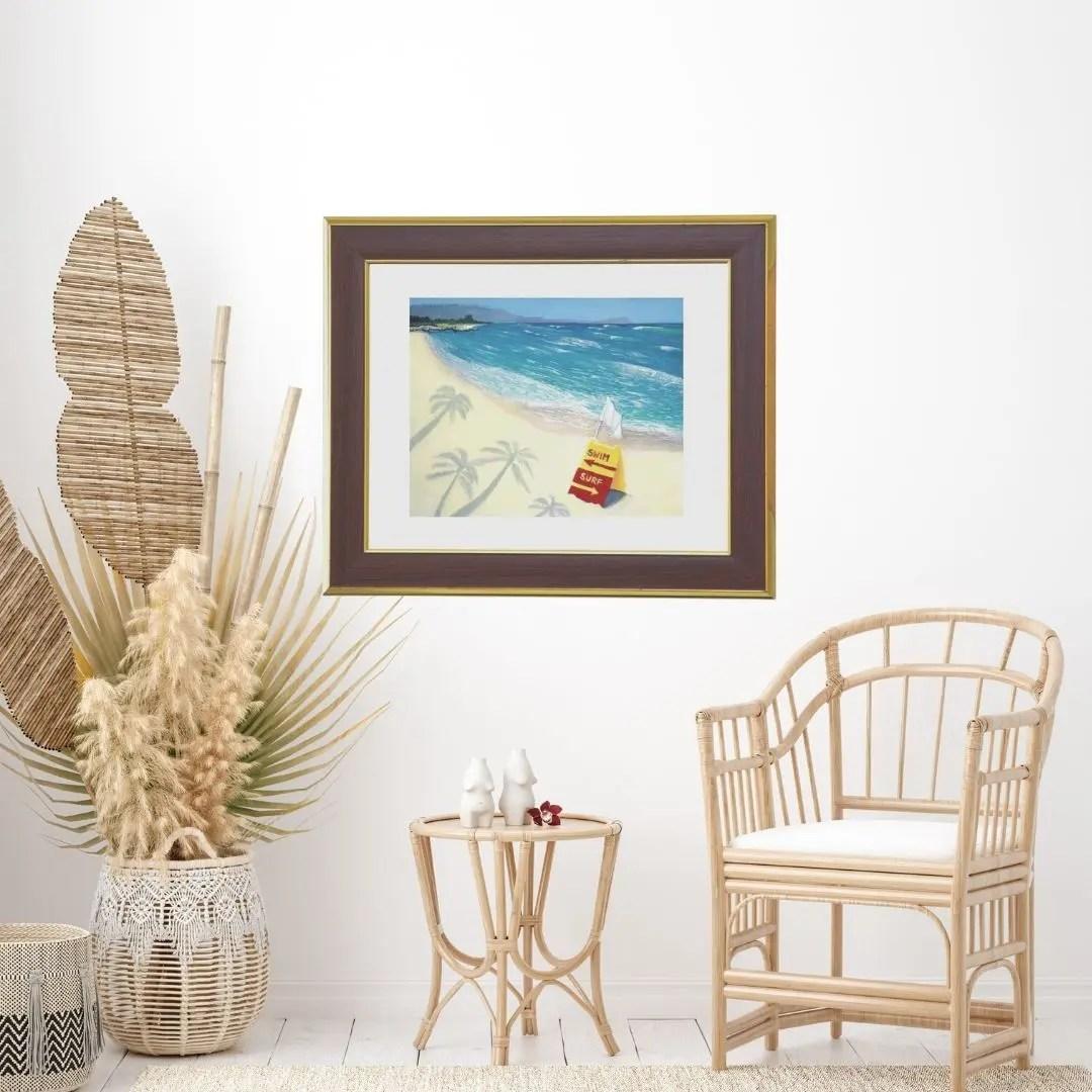 beach-wall-art-white-plains-beach-hawaii-jan-tetsutani