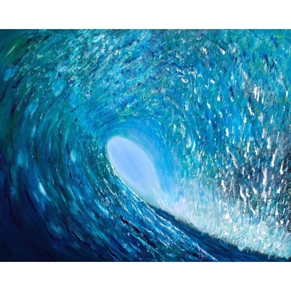 waves art