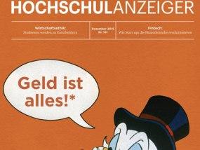 Titel-Story im FAZ Hochschulanzeiger (Cover: FAZ)