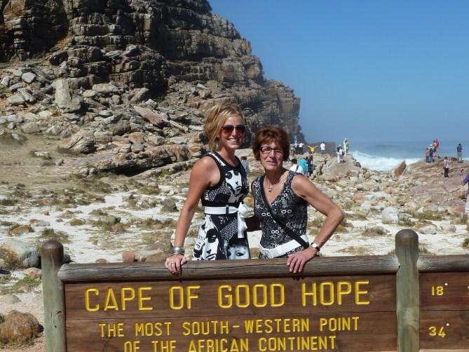 Kaap die goeie hoop Kaapstad Zuid-Afrika