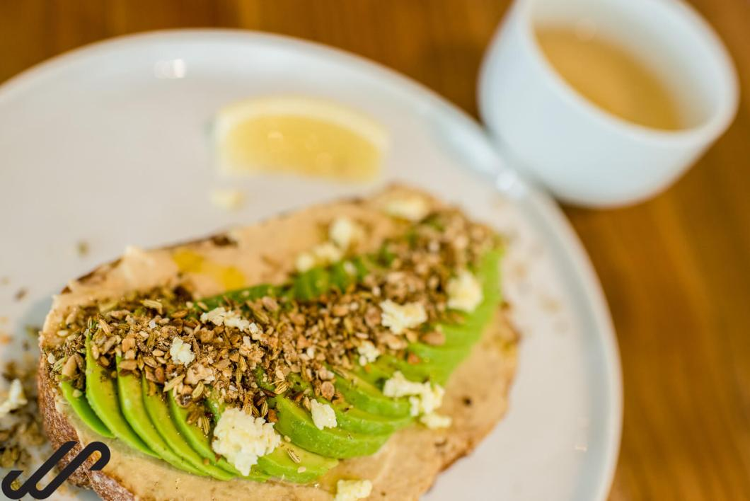 Avocado en Dukkah on toast