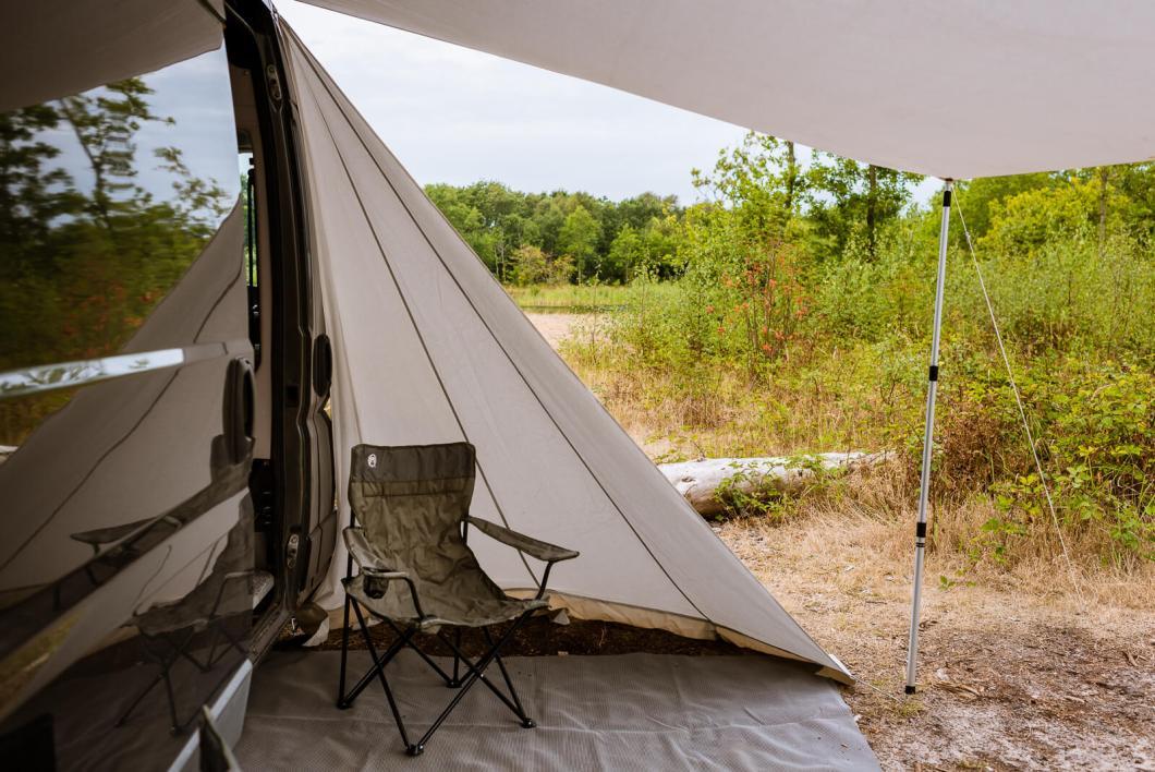 camperluifel voor zelf gemaakte camperbus