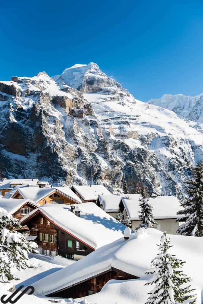 winterwandelen in zwitserland