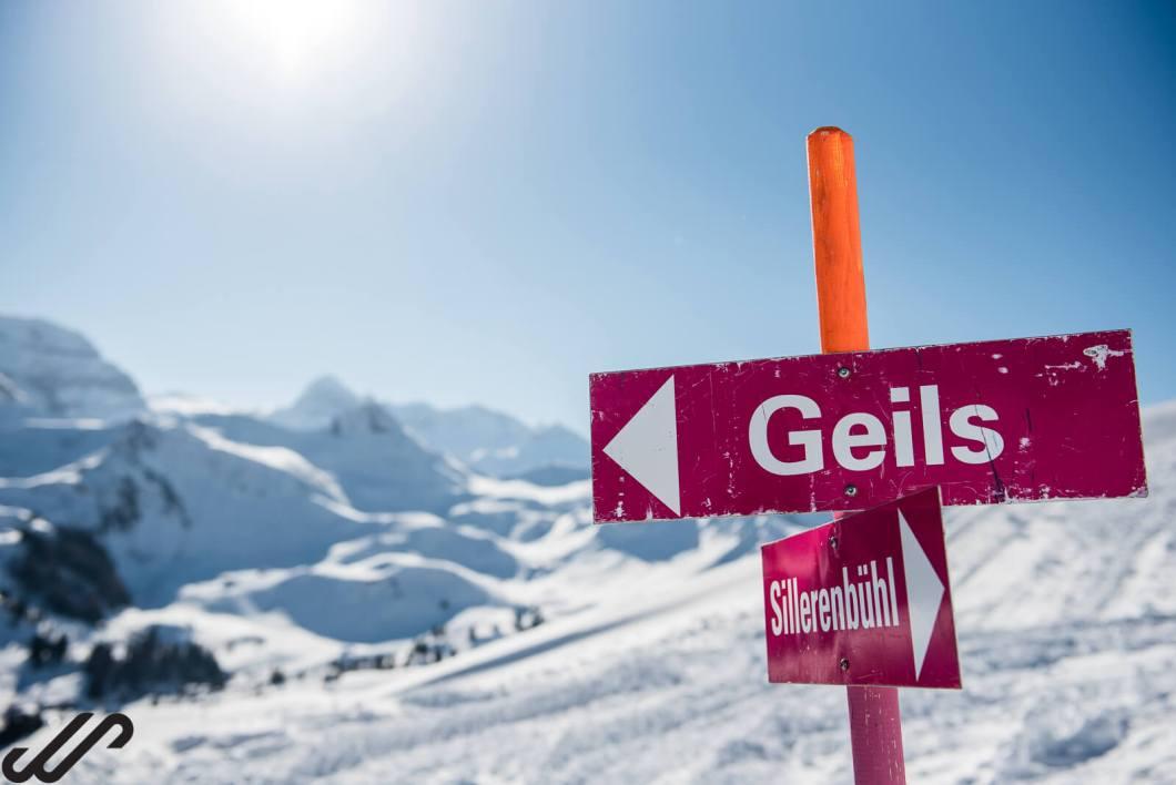 winterwandelen op wintersport zwitserland