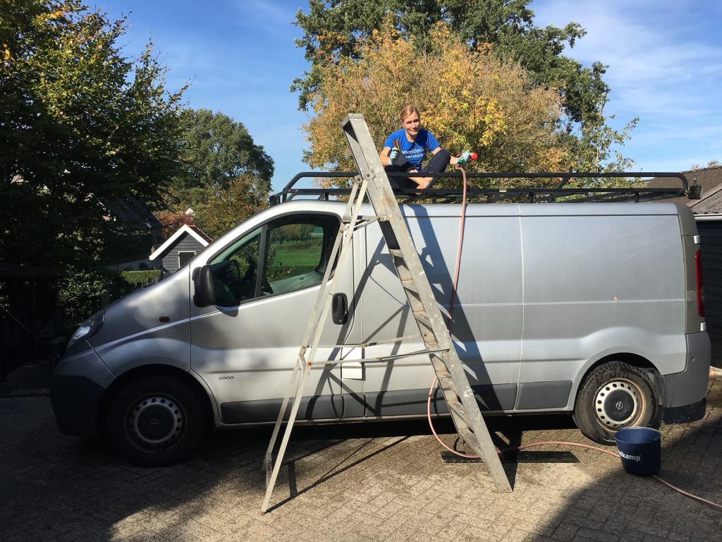 bouw een Opel Vivaro camper