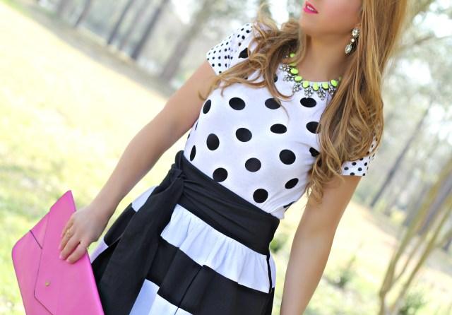 bold stripe skirt 5