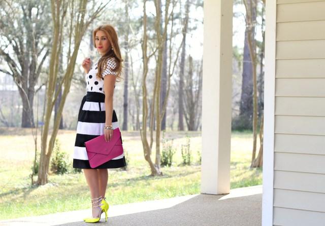 bold stripe skirt 7