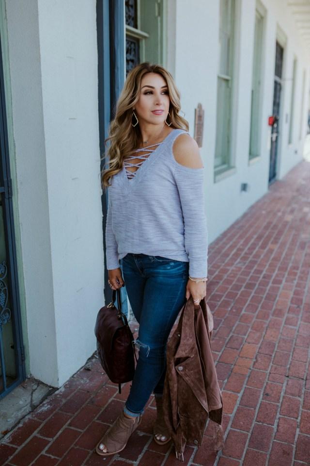 Women's Neutral Sweater