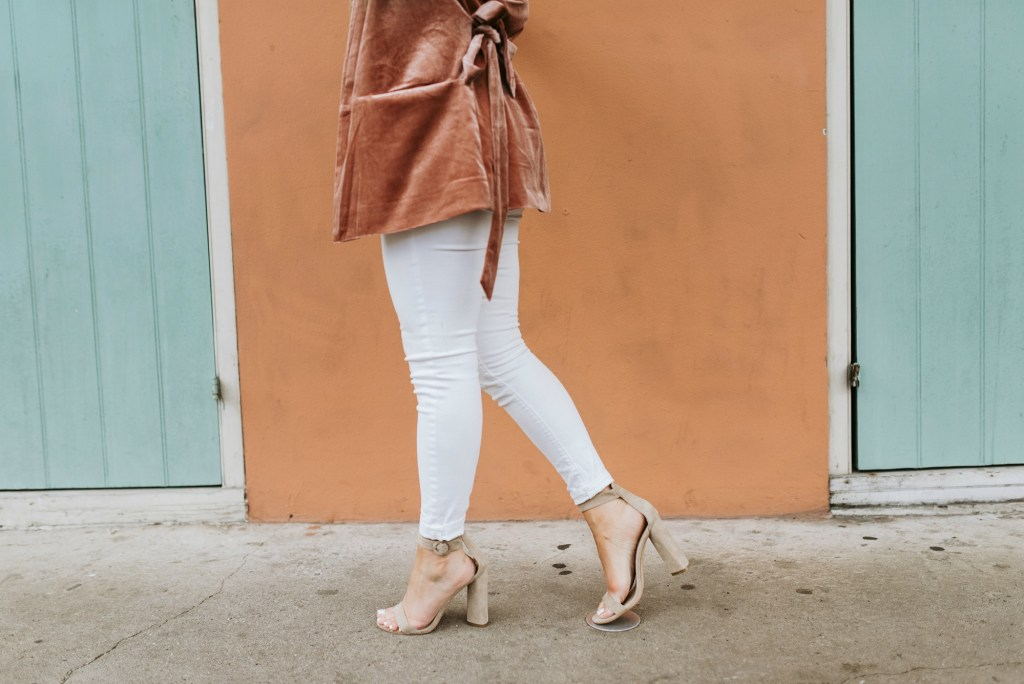 neutral sandal heels for spring