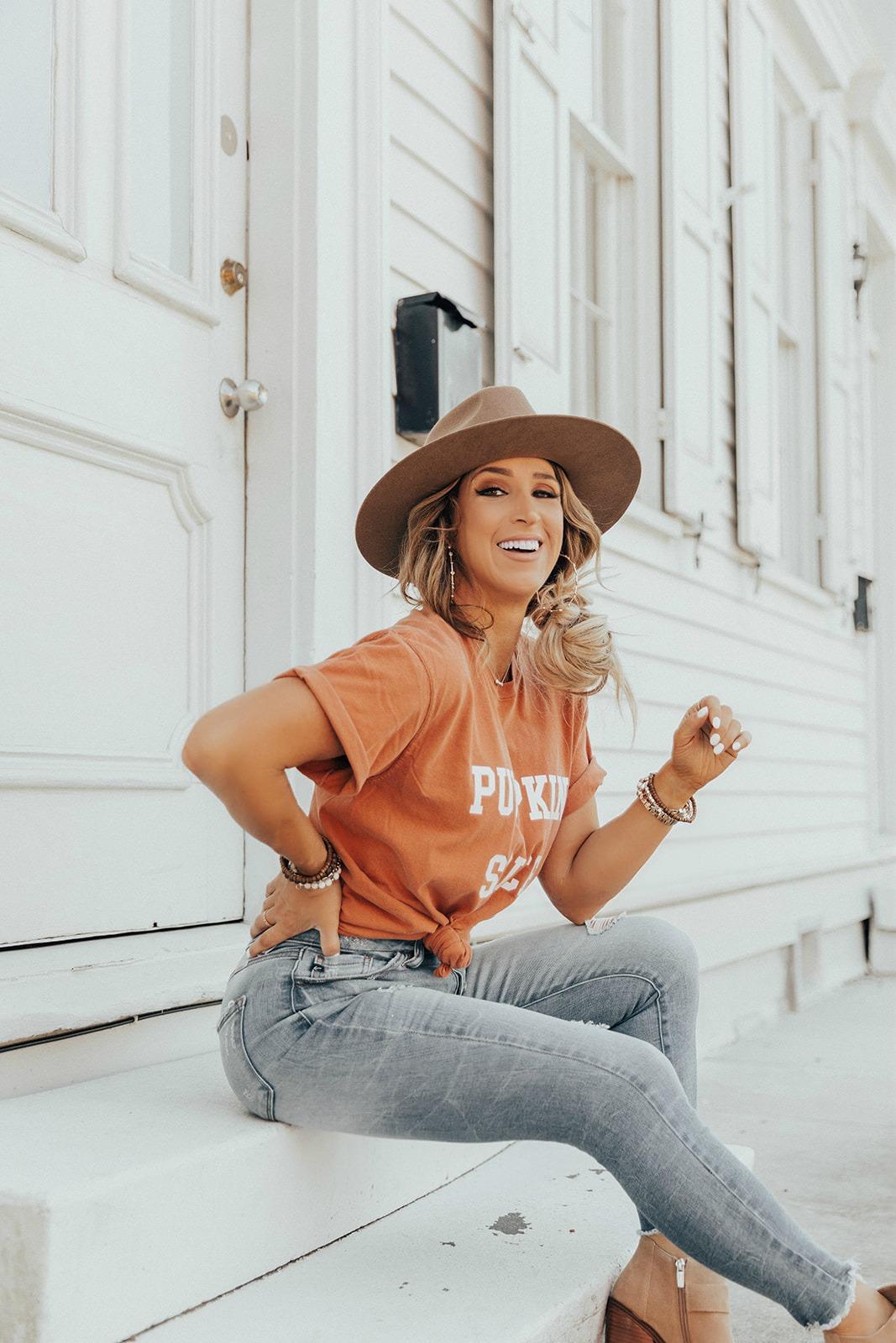 Fall tee shirts for women