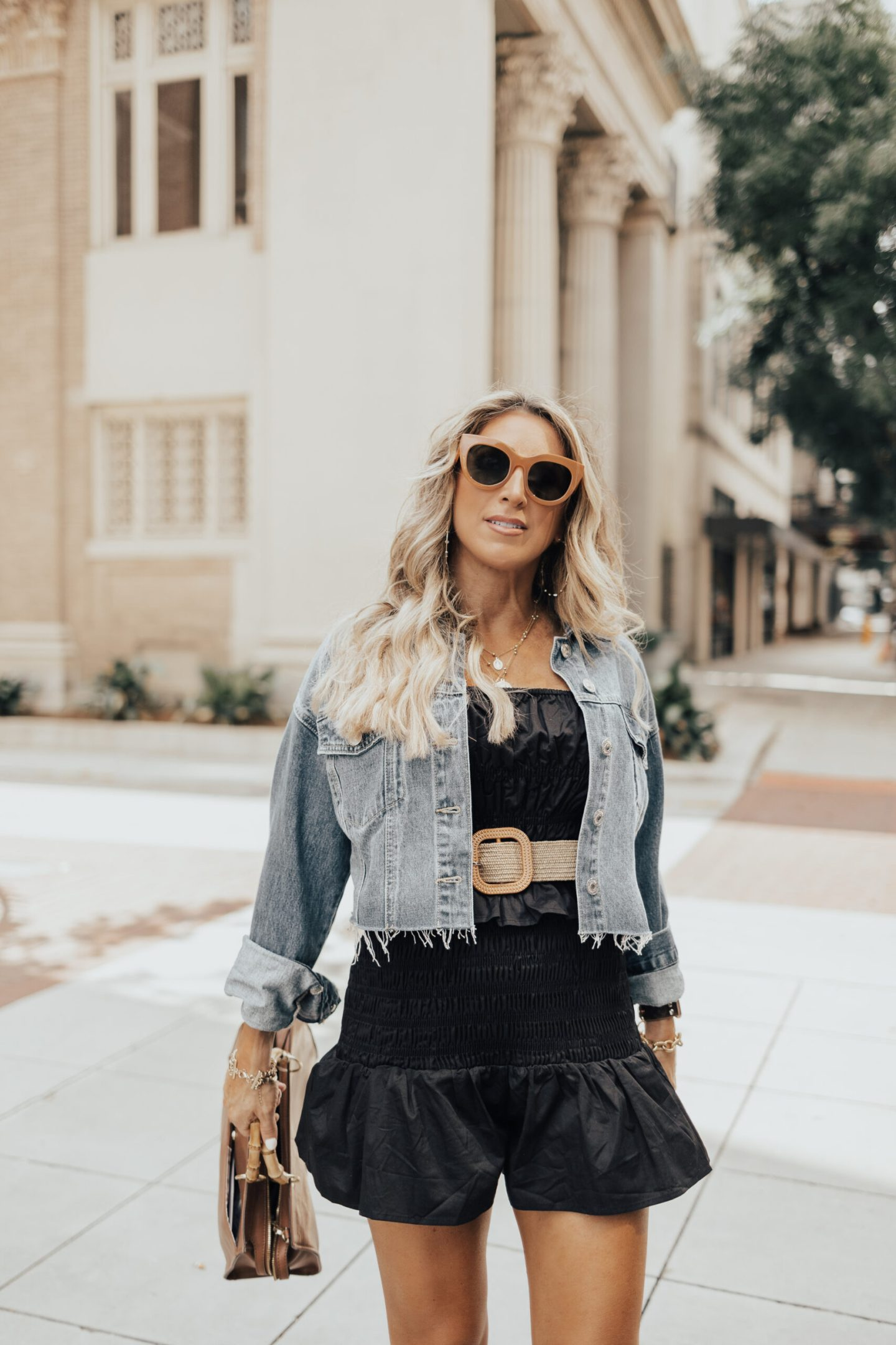 fall transitional look for women