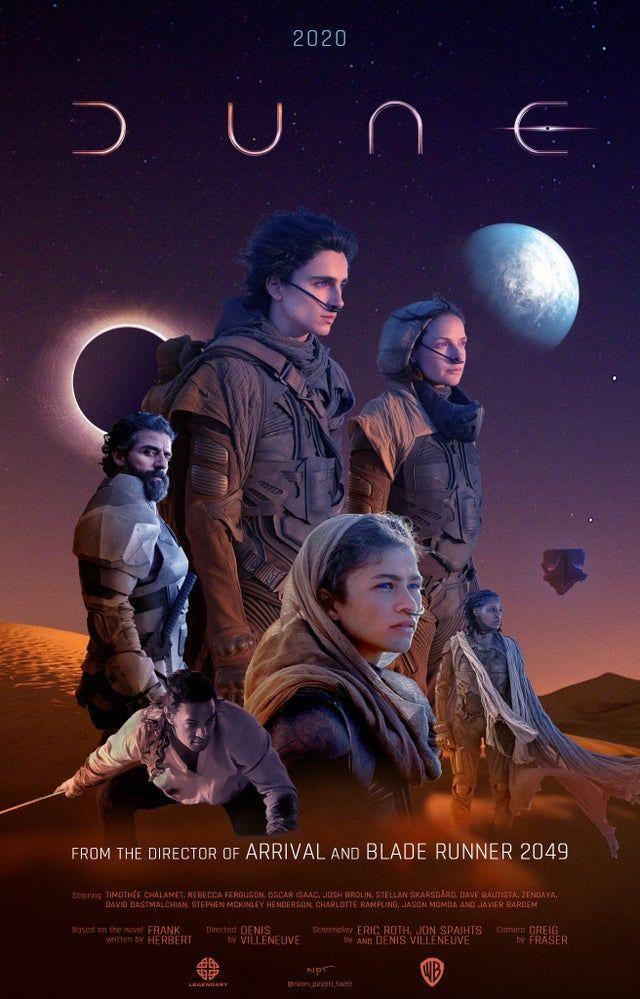 Frank Herbert's Dune Returns -
