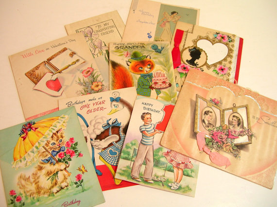 Are Vintage Greeting Cards Worth Anything Yes And No