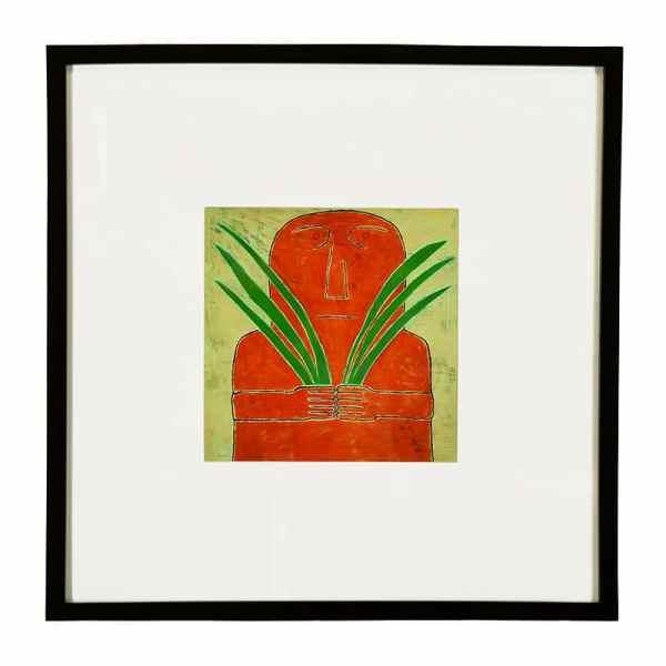 JAO Art print Person holding grass