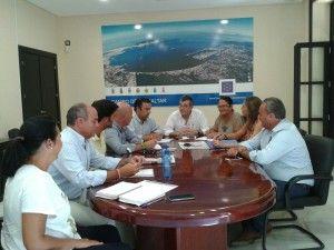 Reunión del gobierno de la Mancomunidad de Municipios del Campo de Gibraltar