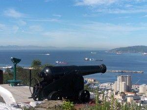 Vista desde el Peñón de Gibraltar