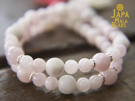Rose Quartz Bracelet Malas