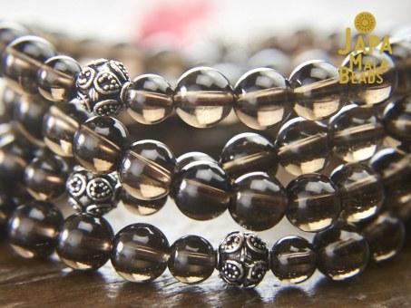Smoky Quartz Mala Beads