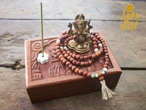 Ganesha Mala Bead Meditation Set