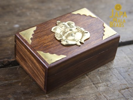 Brass Ganesha Mala Box