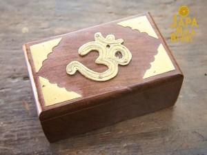 Brass Om Mala Box
