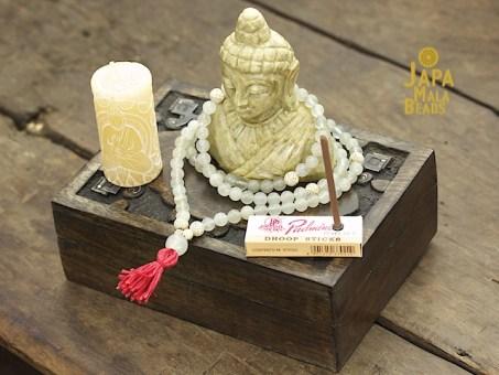 Soapstone Buddha Mala Altar Set