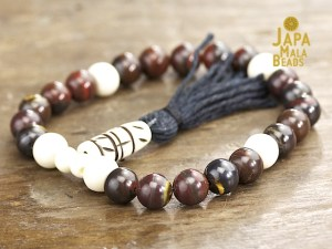 Red Tiger Iron and Bone Mala