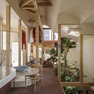 菊名貝塚の住宅