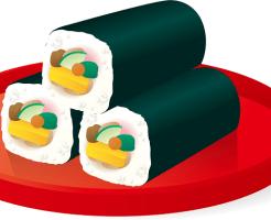 恵方巻き 2016 かっぱ寿司