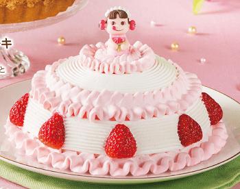 不二家ひな祭りケーキ14