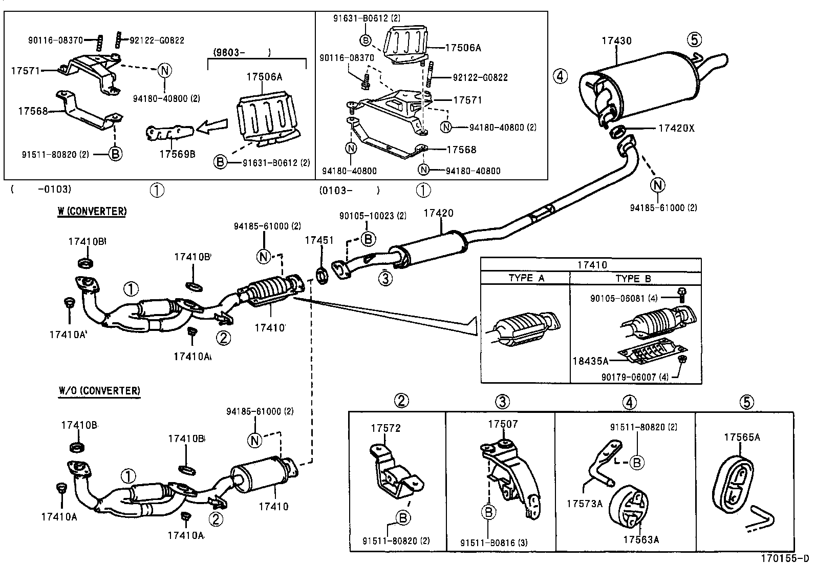 Toyota Camry Parts Diagrams