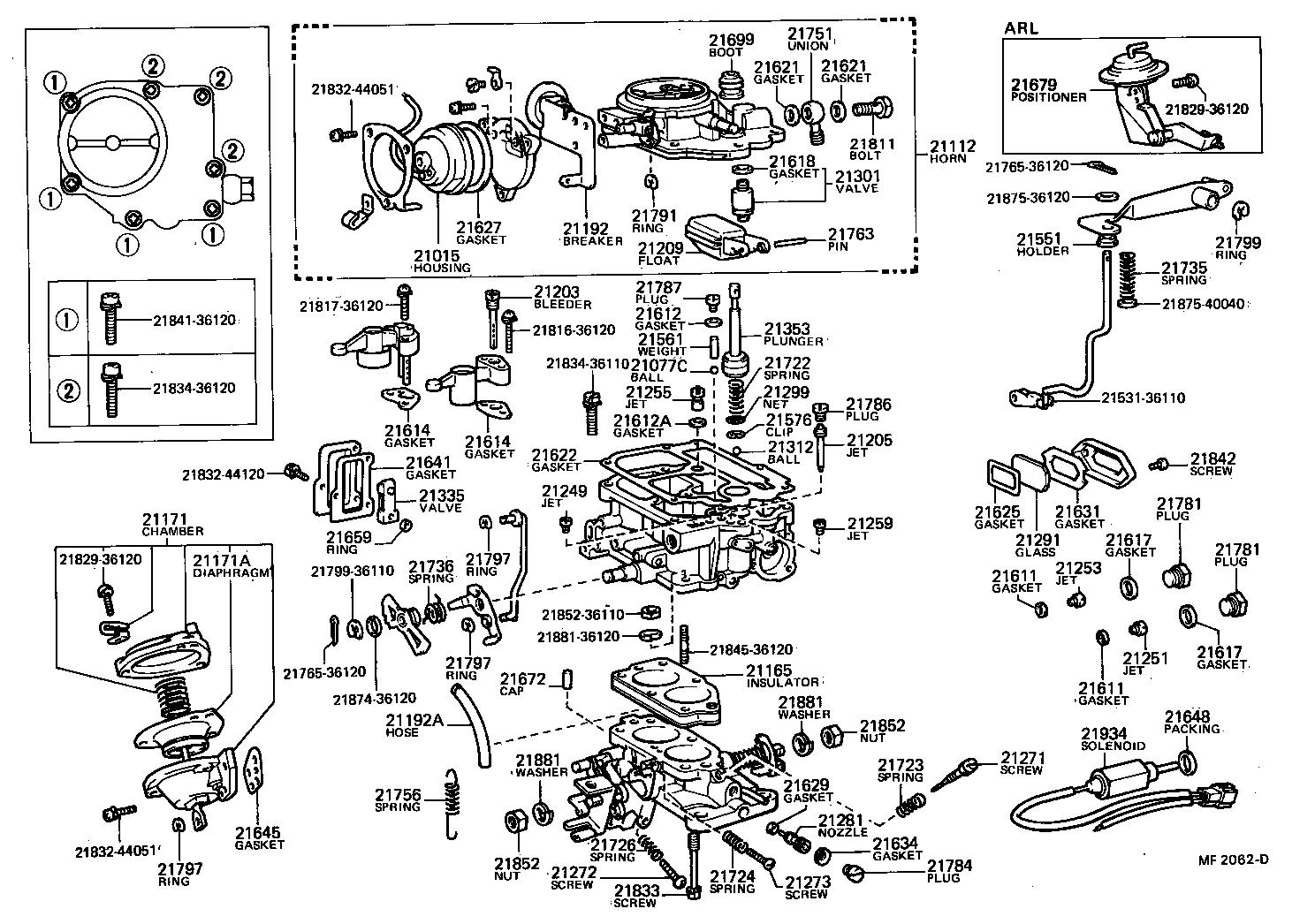 Toyota Hiluxrn41l Kd