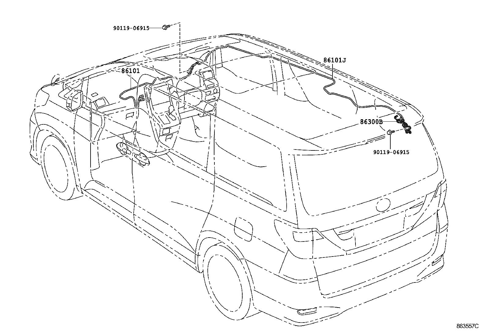 Toyota Alphard Vellfire Hvanh20r Pfxqk
