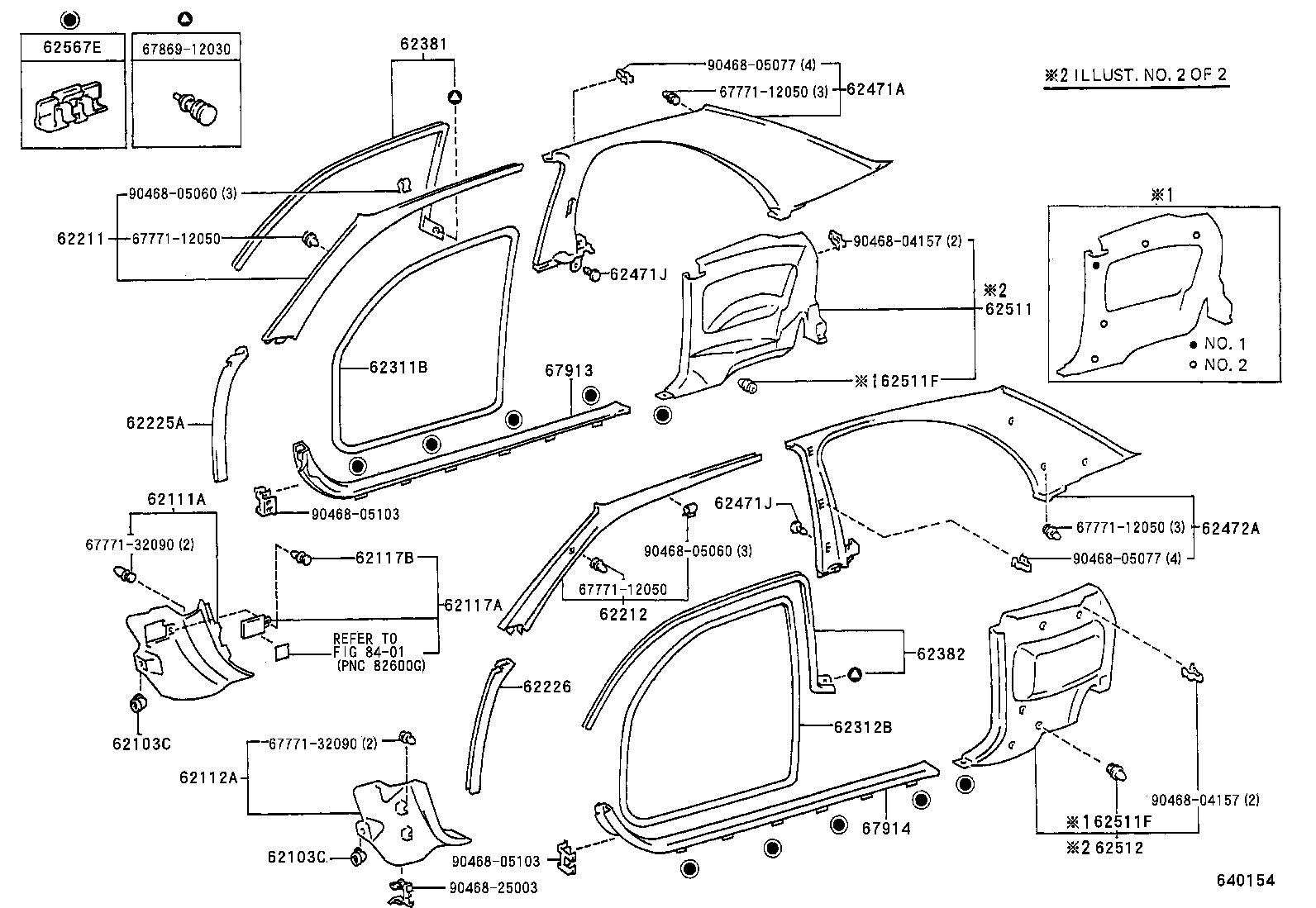 Toyota Corolla Body Parts Diagram