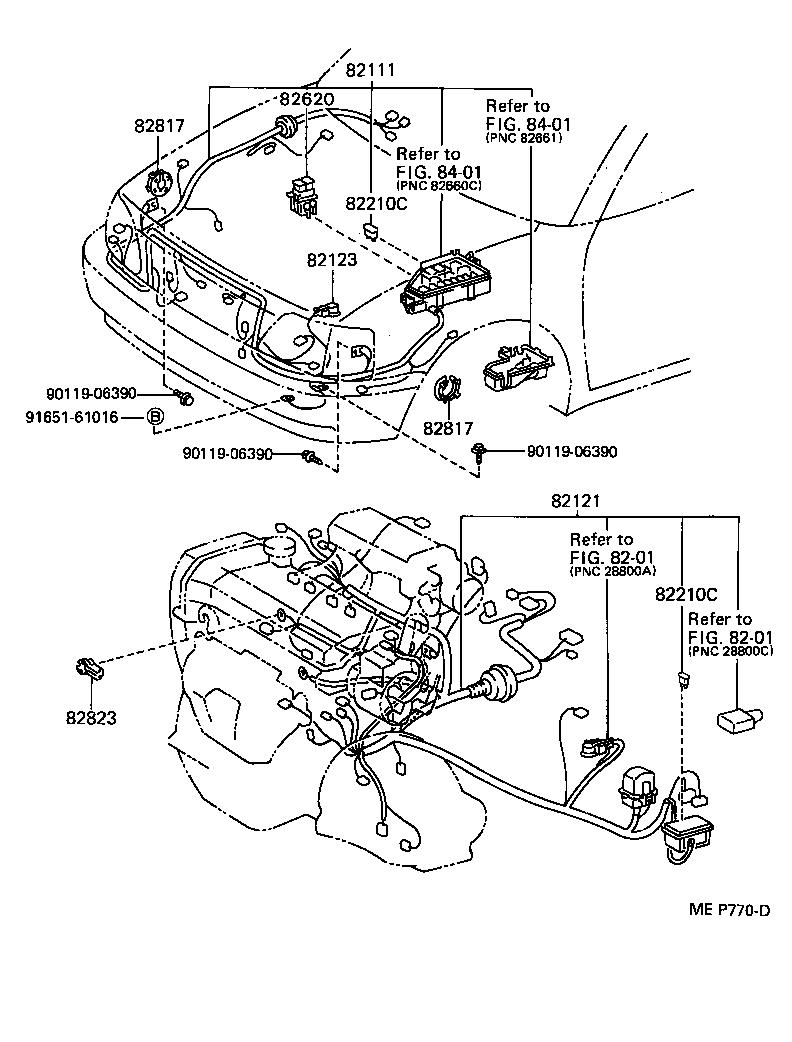 Toyota starletep82 ahknk electrical wiring cl japan parts eu