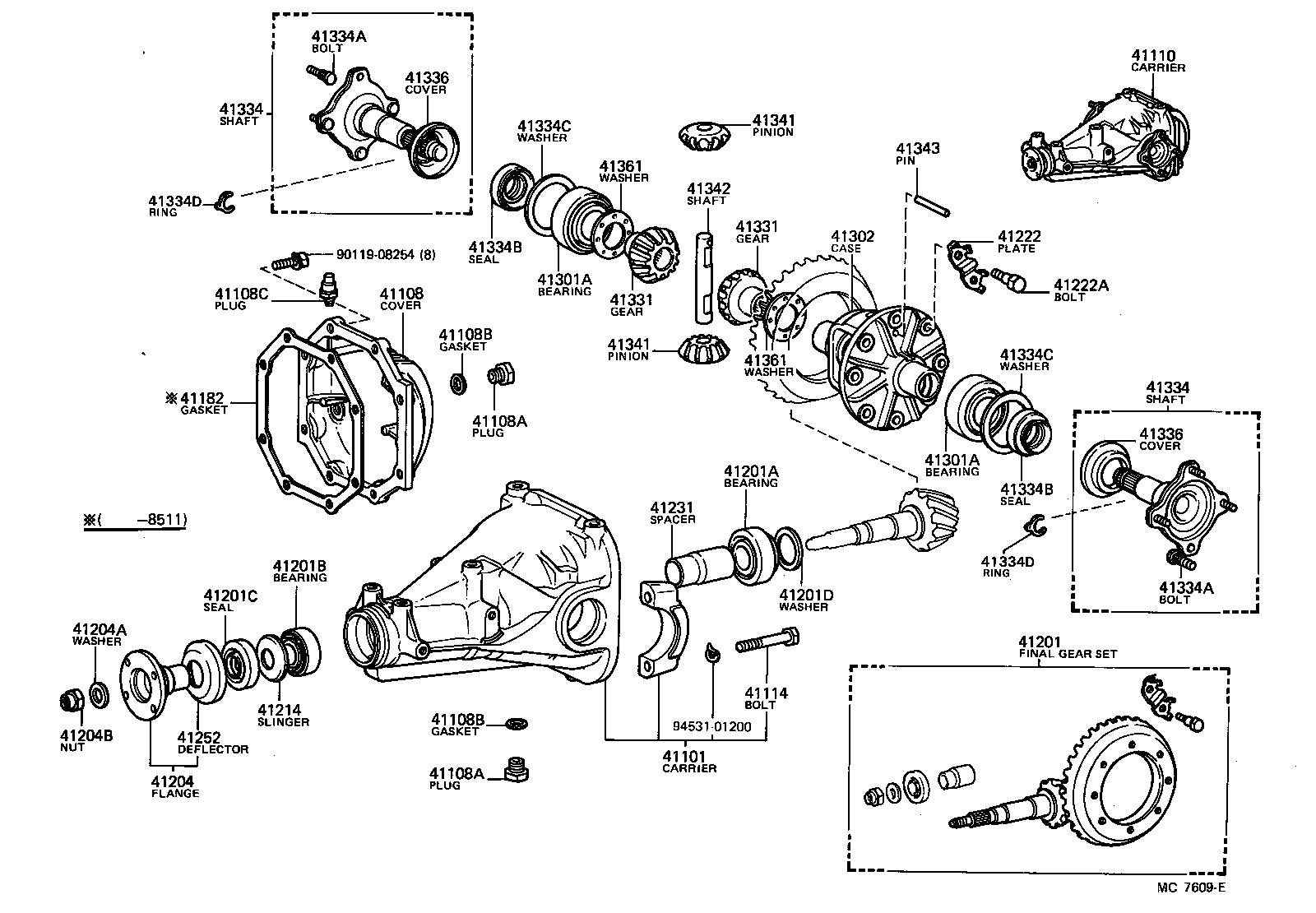 Toyota Celica Rear Differential