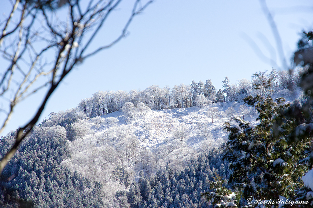 天女の舞に魅せられて(奈良県/大峰山脈)
