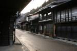 冬の奈良井宿