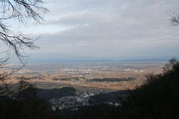 弥彦山からの風景