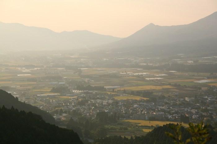 高森峠から見る風景